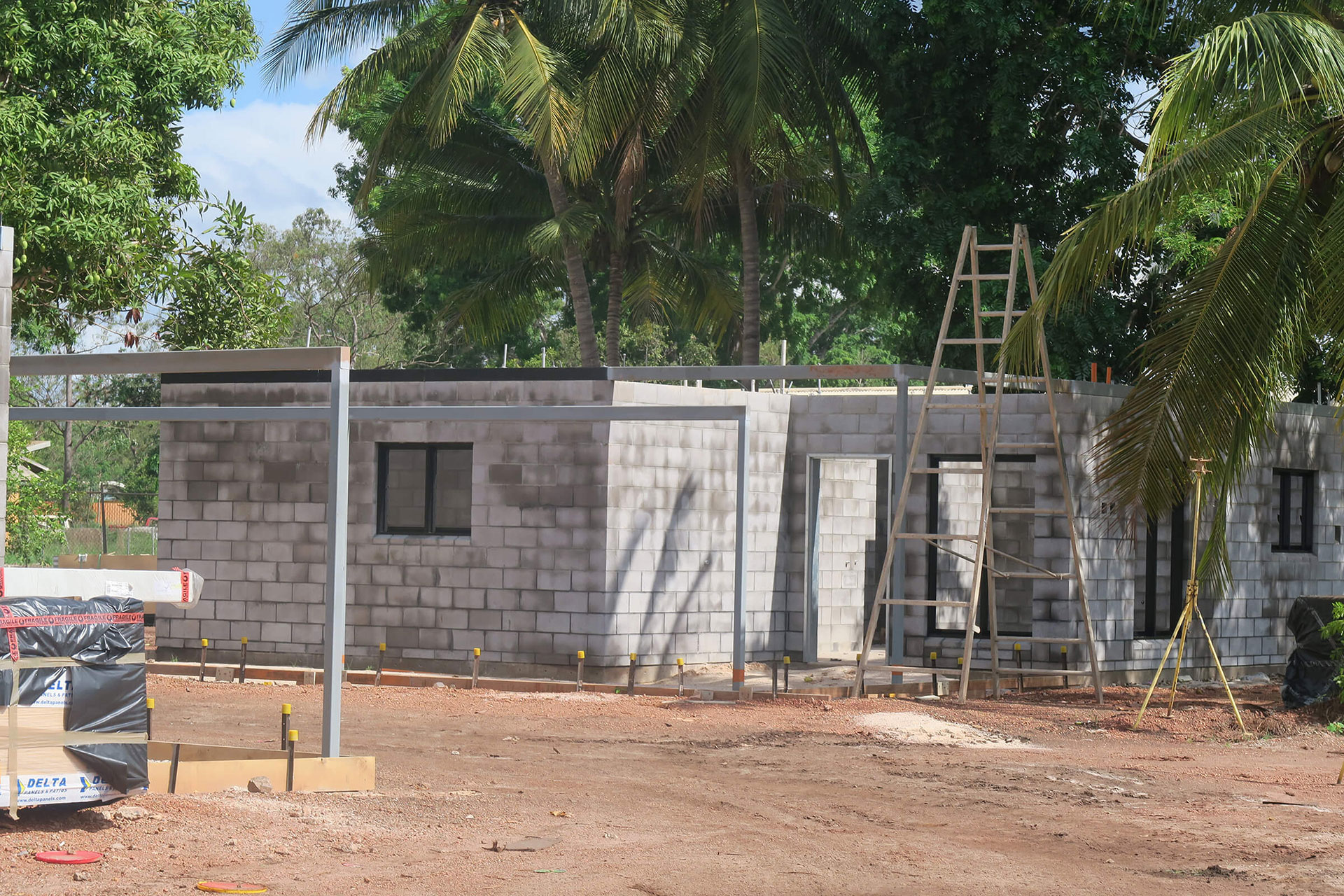 House being constructed at AMJ
